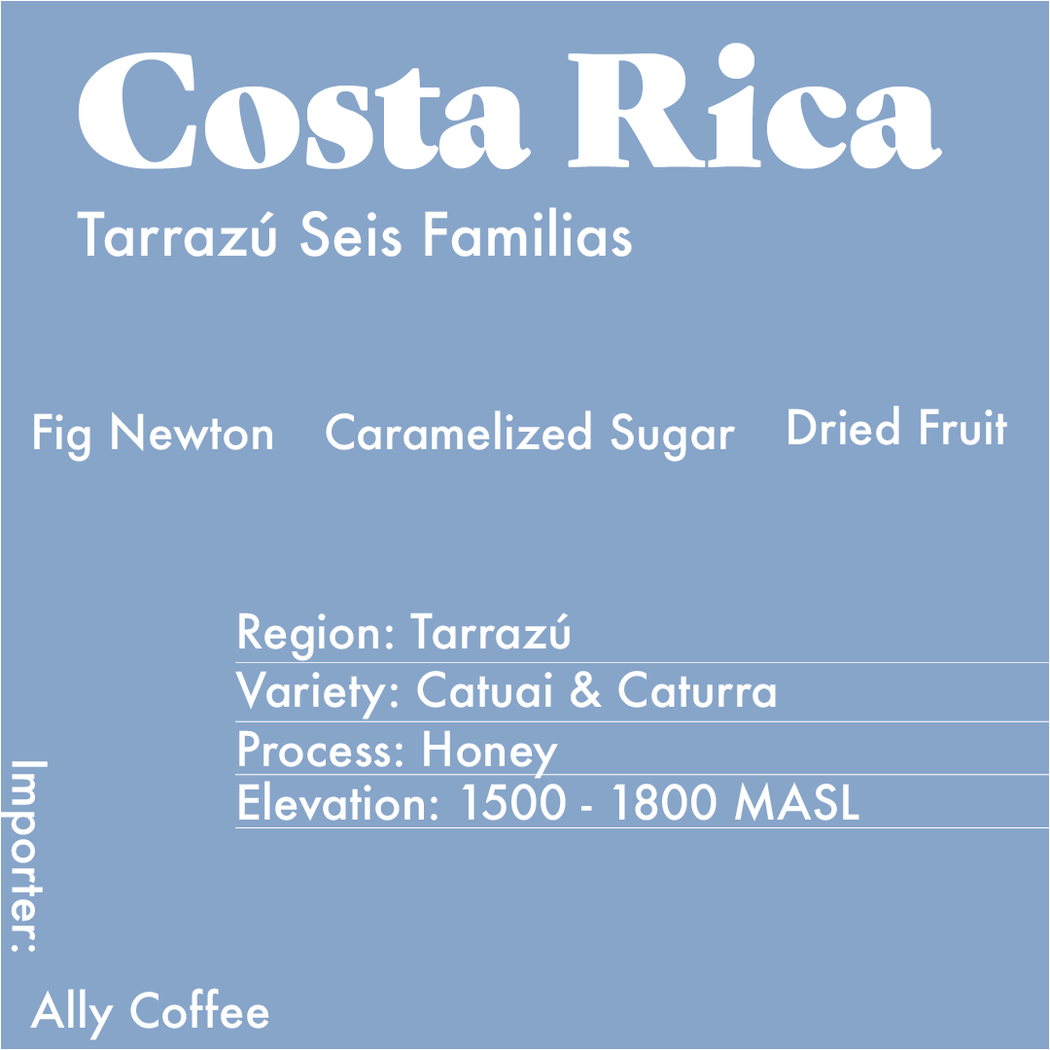 Info Card for the Costa Rica Honey