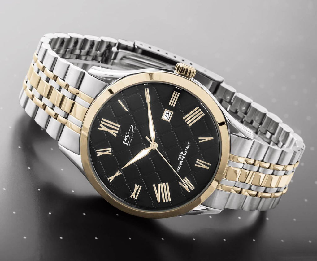Daniel Steiger The Duke Yellow Gold Watch - Catalog Shot
