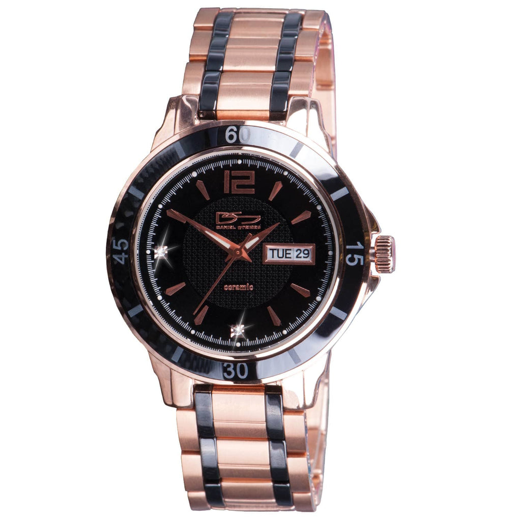 Mayfair Ceramic Rose Gold Watch