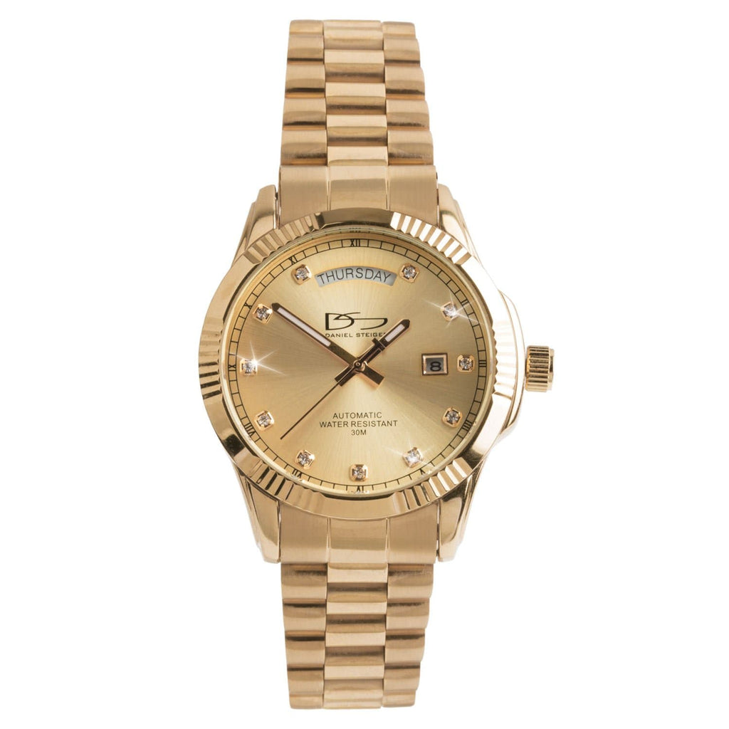 Daniel Steiger Hampshire Gold Watch
