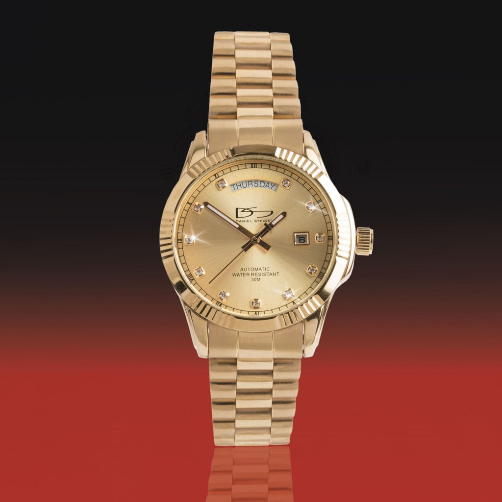 Daniel Steiger Hampshire Gold Watch - Catalog Shot