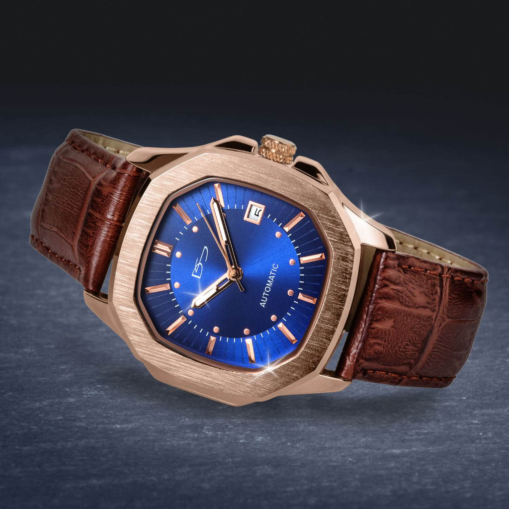 Monument Automatic Blue Watch