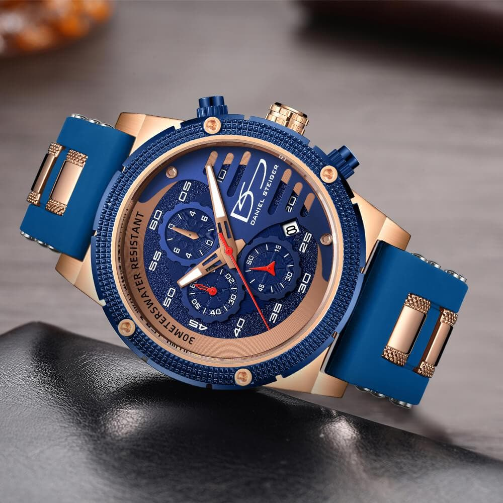 Renegade Men's Blue Watch