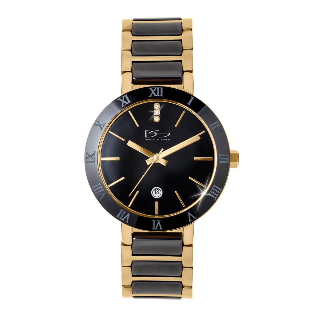 Daniel Steiger Verona Black Ceramic Men's Watch
