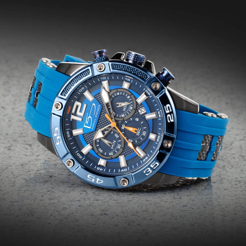Adventurer Blue Men's Watch & Sunglasses