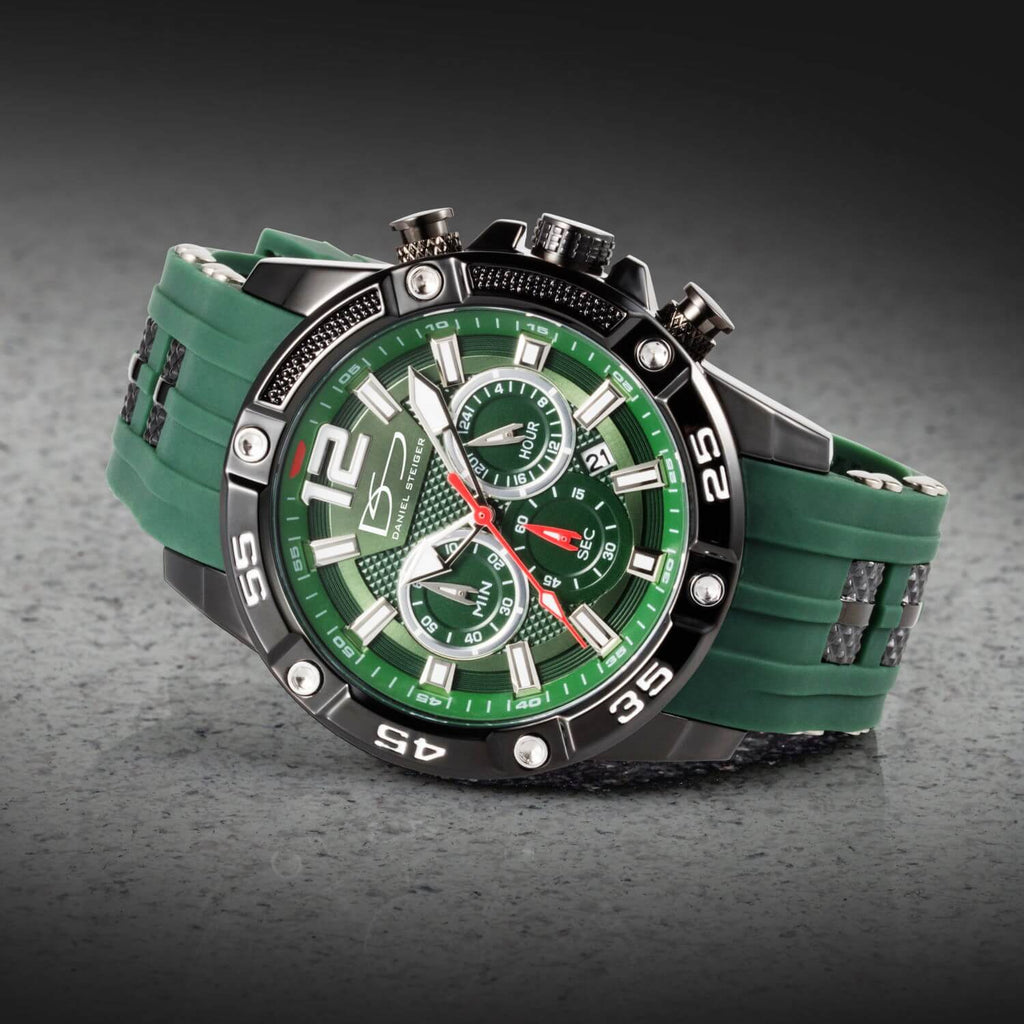 Adventurer Green Men's Watch & Sunglasses