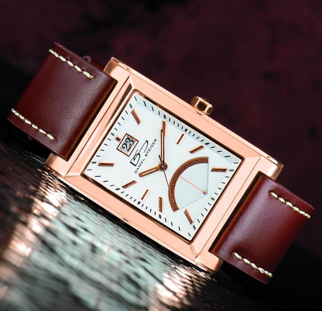 Daniel Steiger The Monticello Rose Gold Watch - Catalog Shot