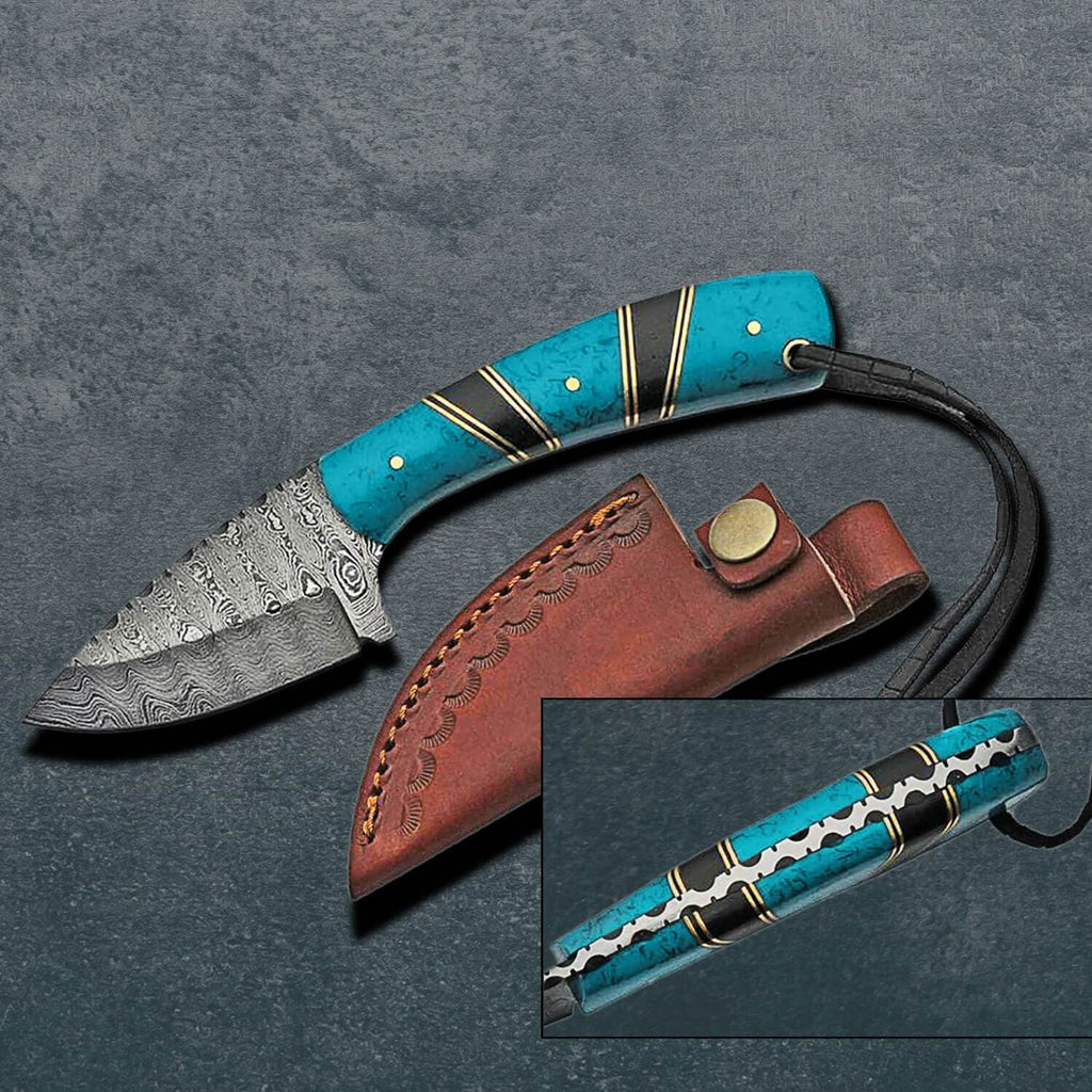 Quest Damascus Knife