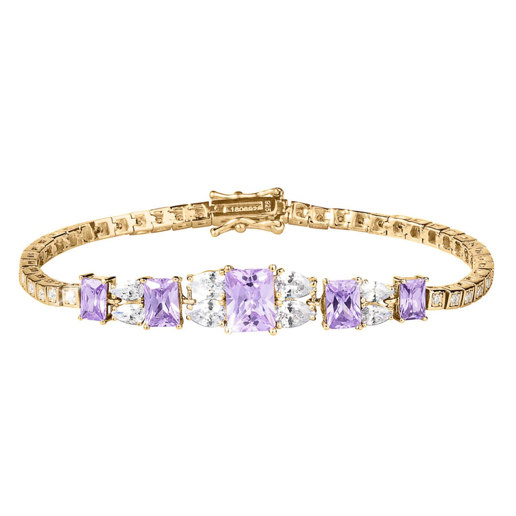 Lavender Spray Bracleet