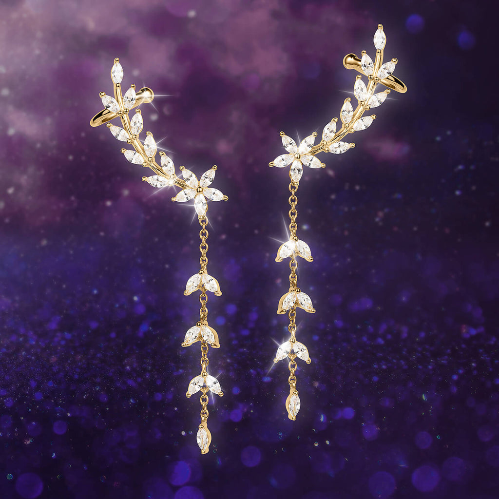 Lania Climber Earrings