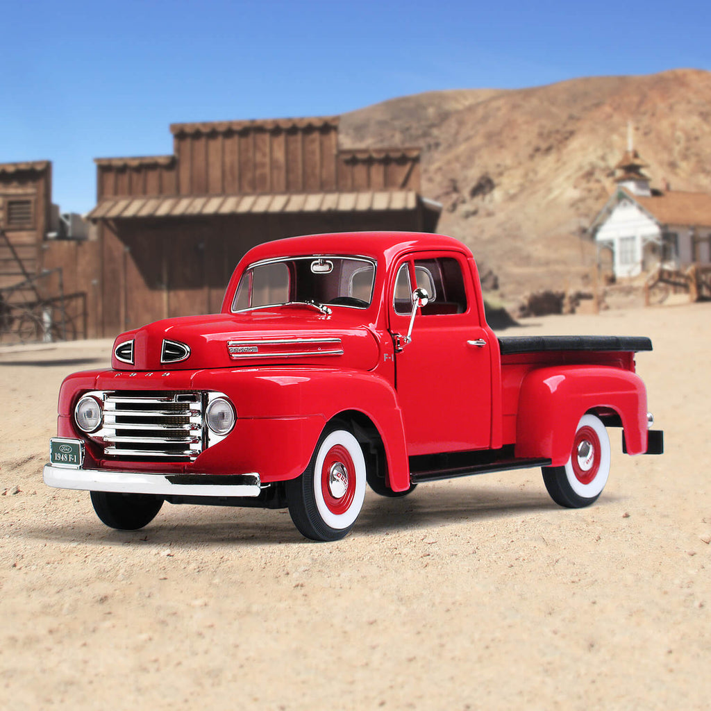 1948 Ford F-1 Pickup Red