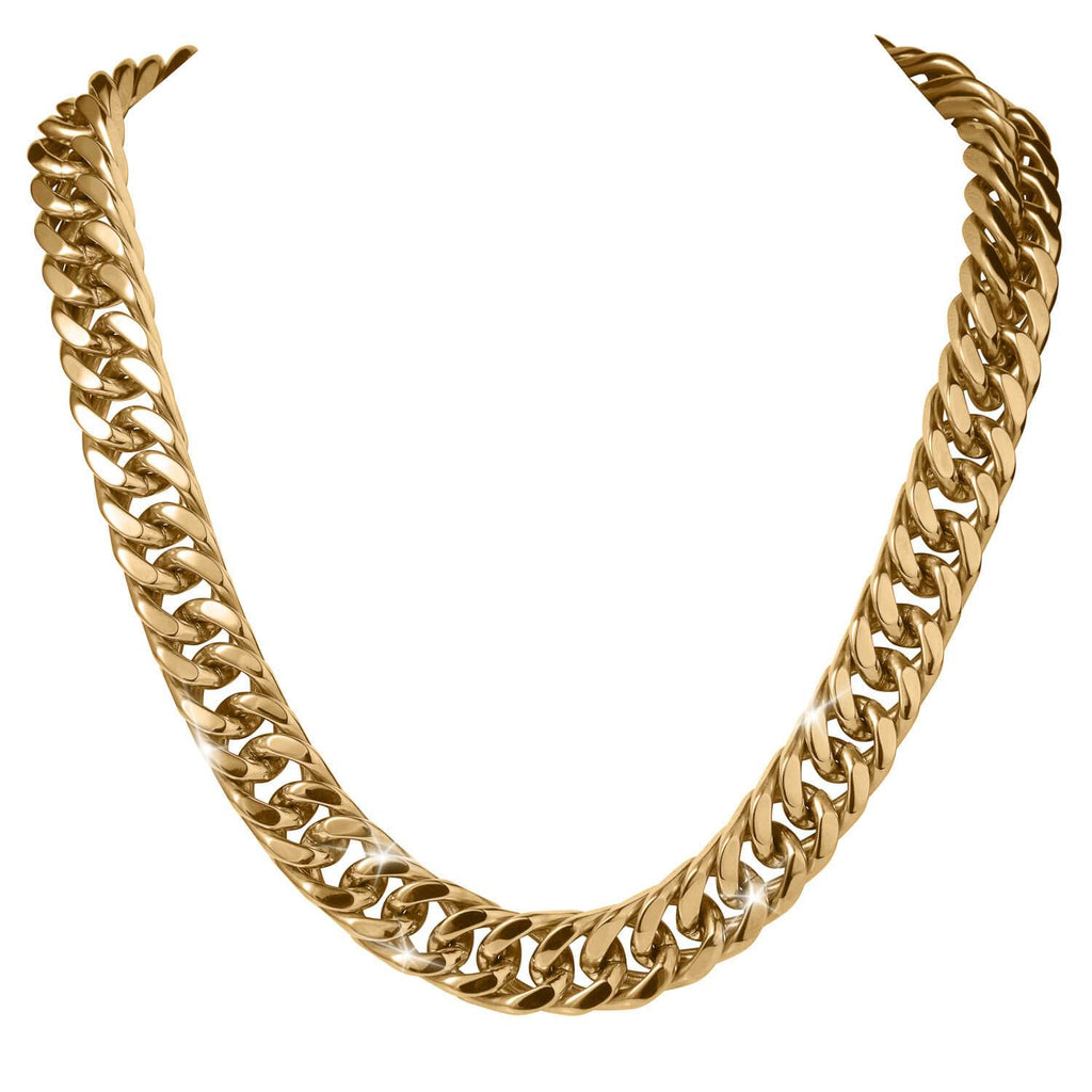 Signature Curb Men's Necklace