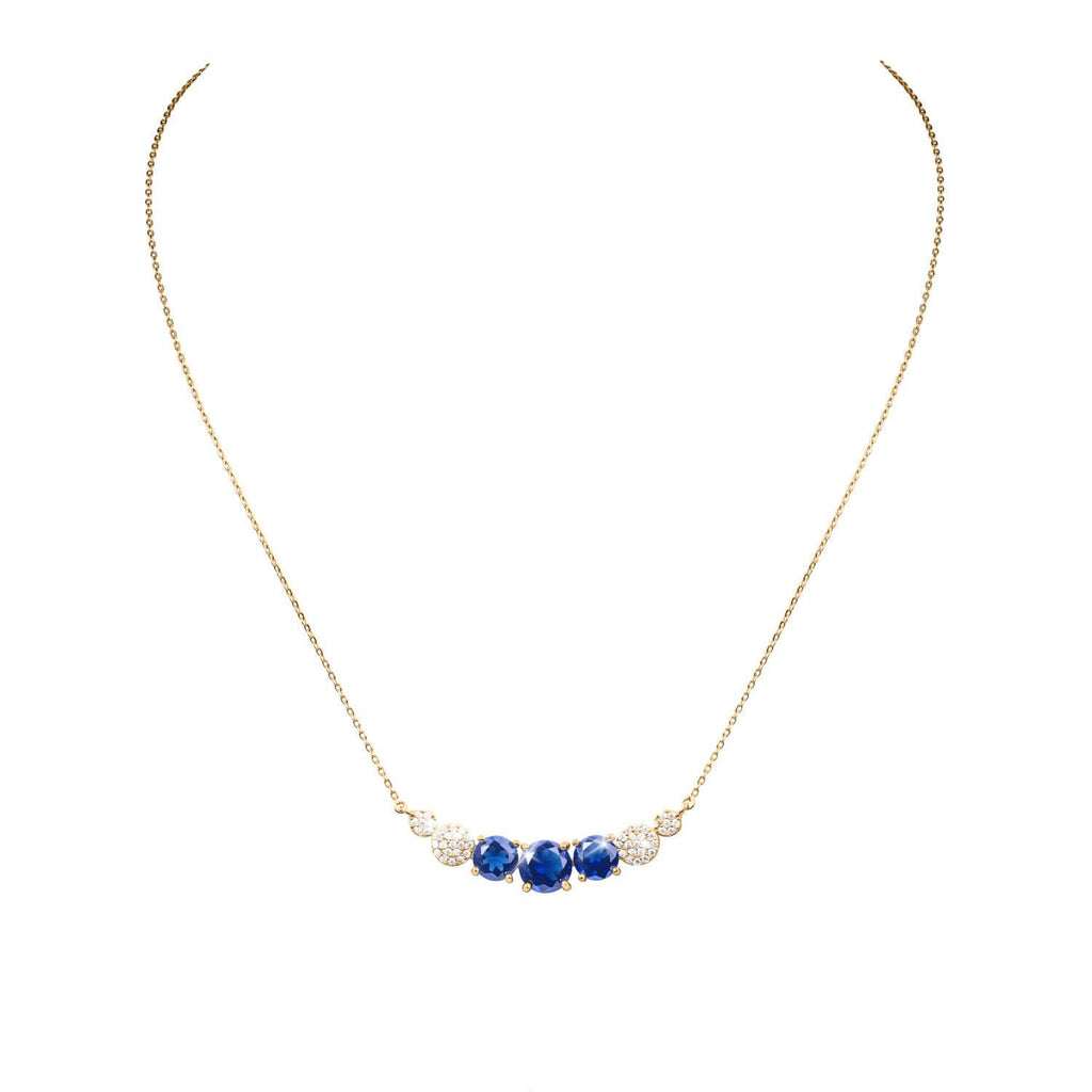 Candy Regal Blue Necklace