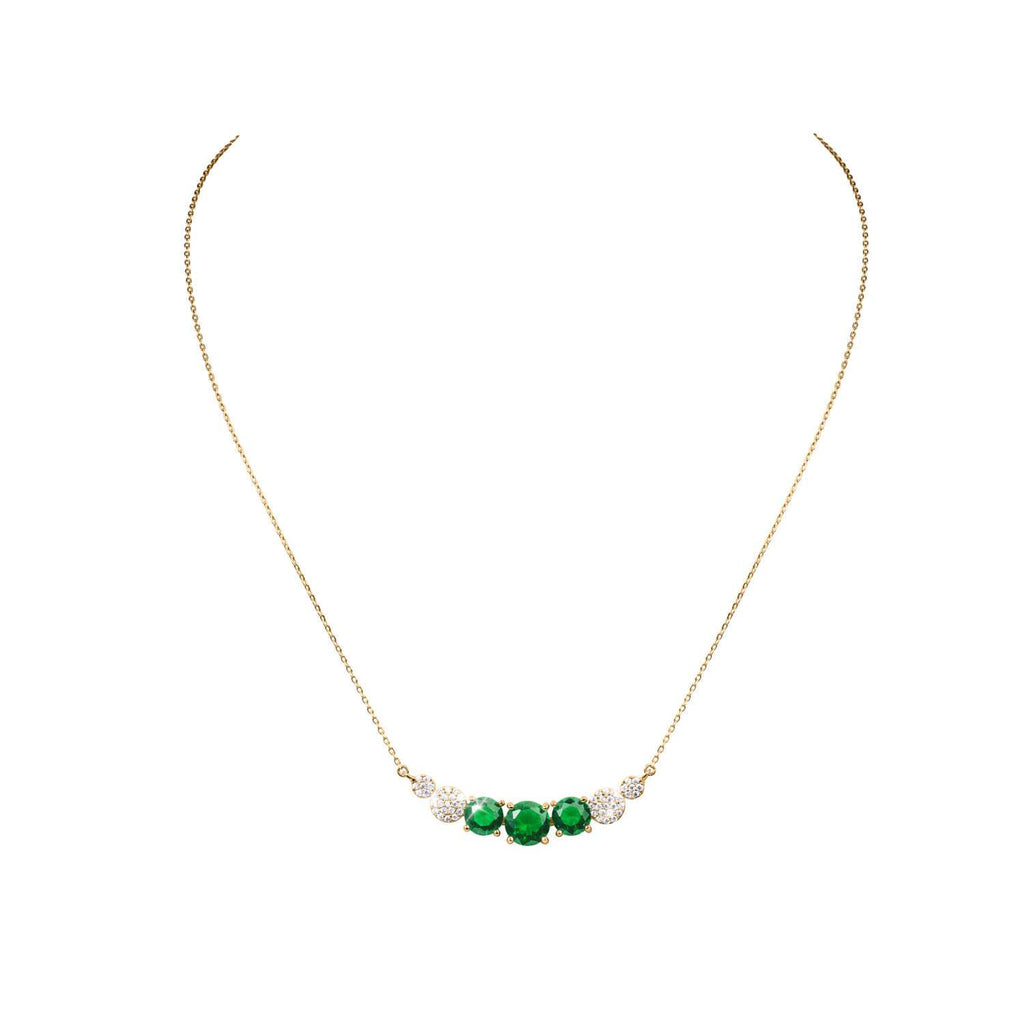 Candy Fern Green Necklace