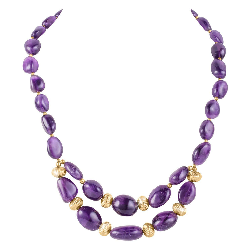 Alluring Amethyst Necklace