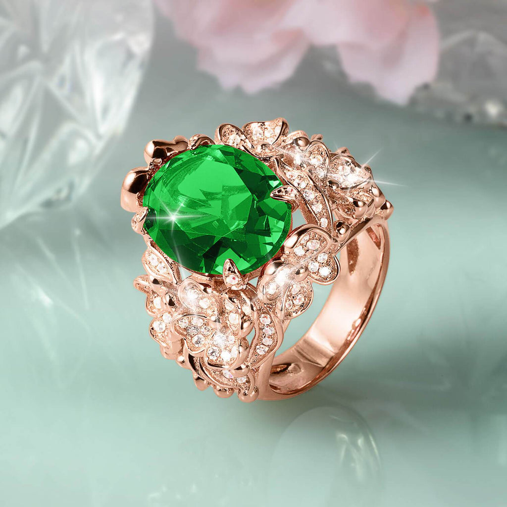 Forest Bloom Ladies Ring