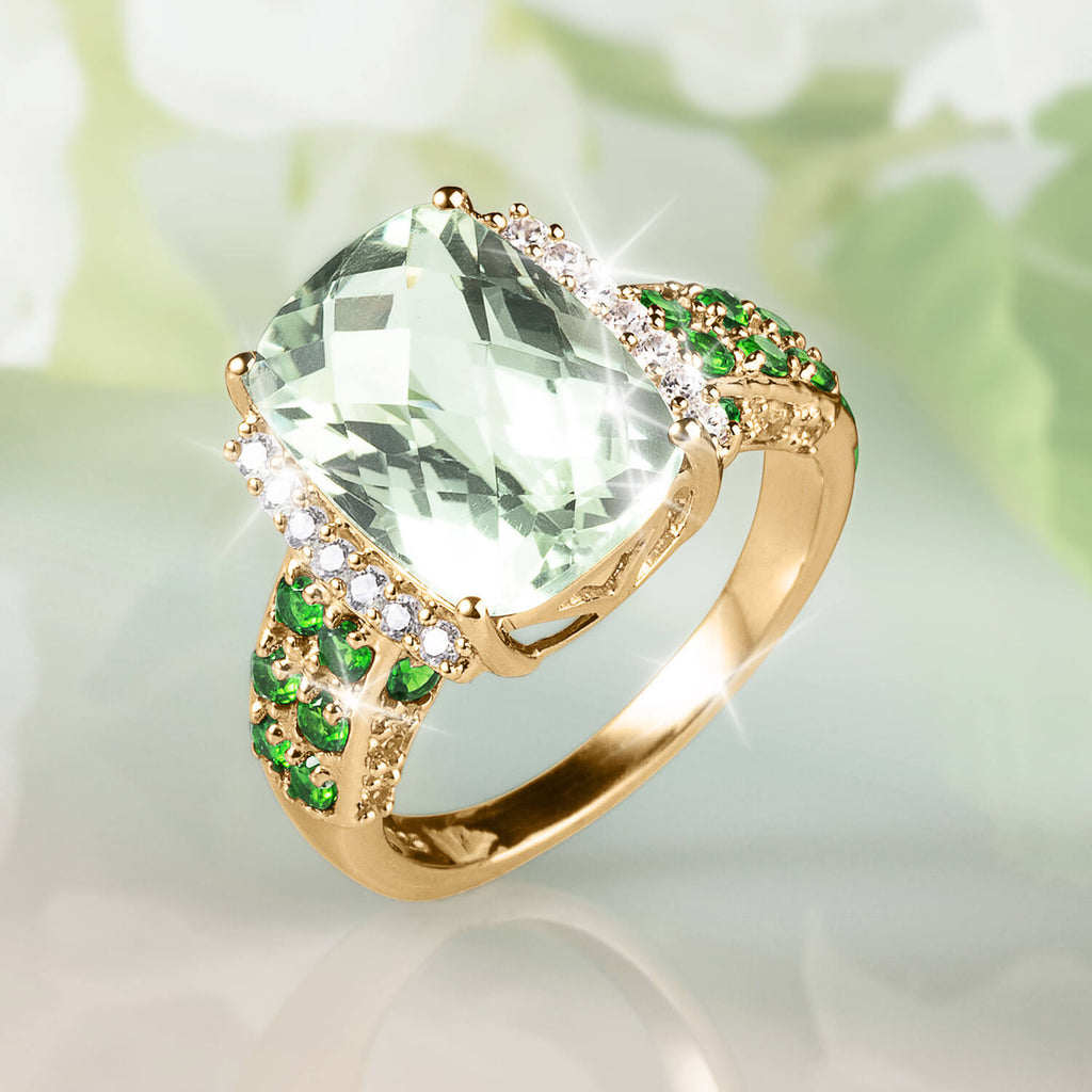 Mint Frosting Ladies Ring