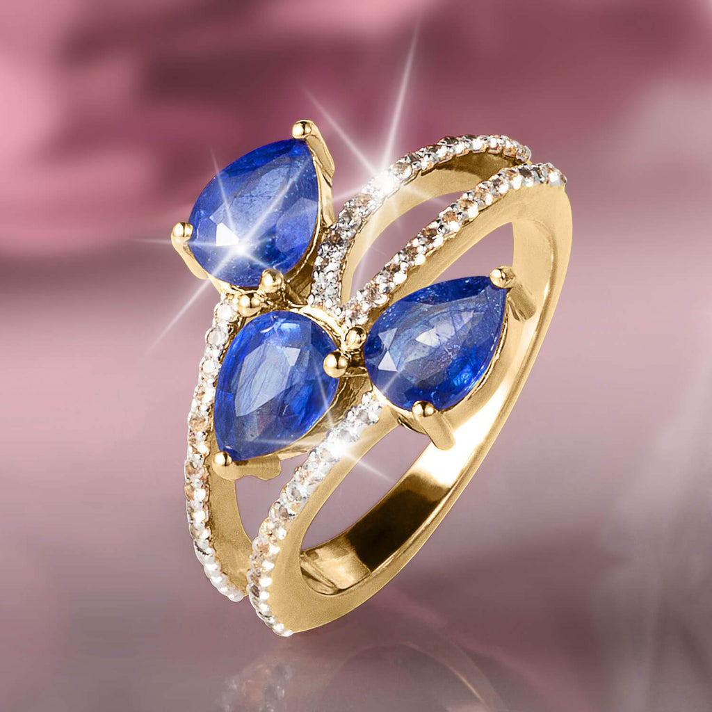Cocktail Hour Sapphire Ring