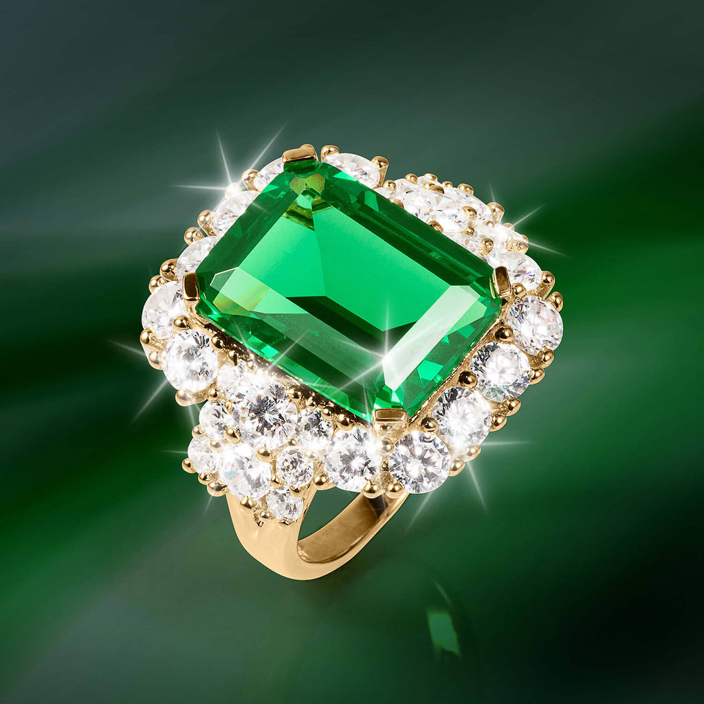 Evergreen Goddess Ring