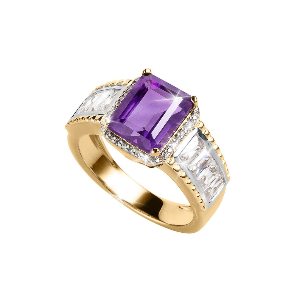 Supremo Amethyst Ladies Ring