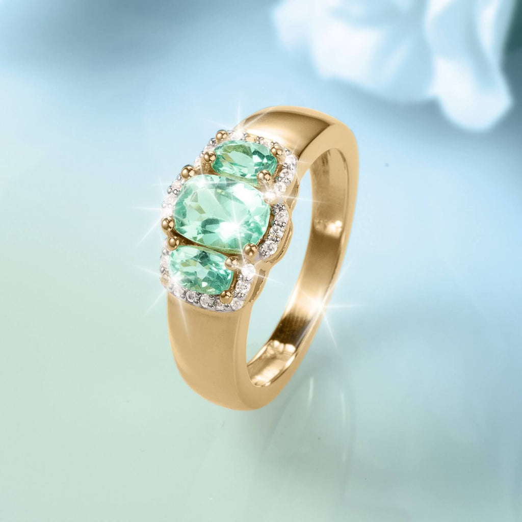 Elegante Apatite Ladies Ring