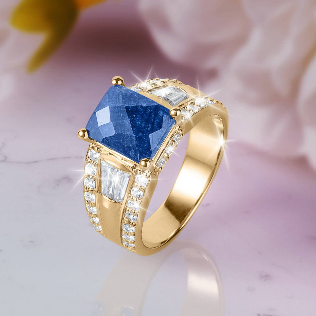 Heavenly Sapphire Ladies Ring