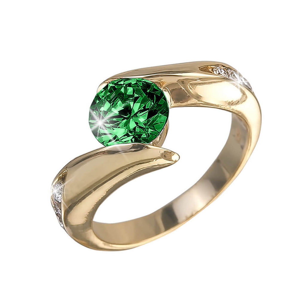 Viva Rainbow Verde Ladies Ring