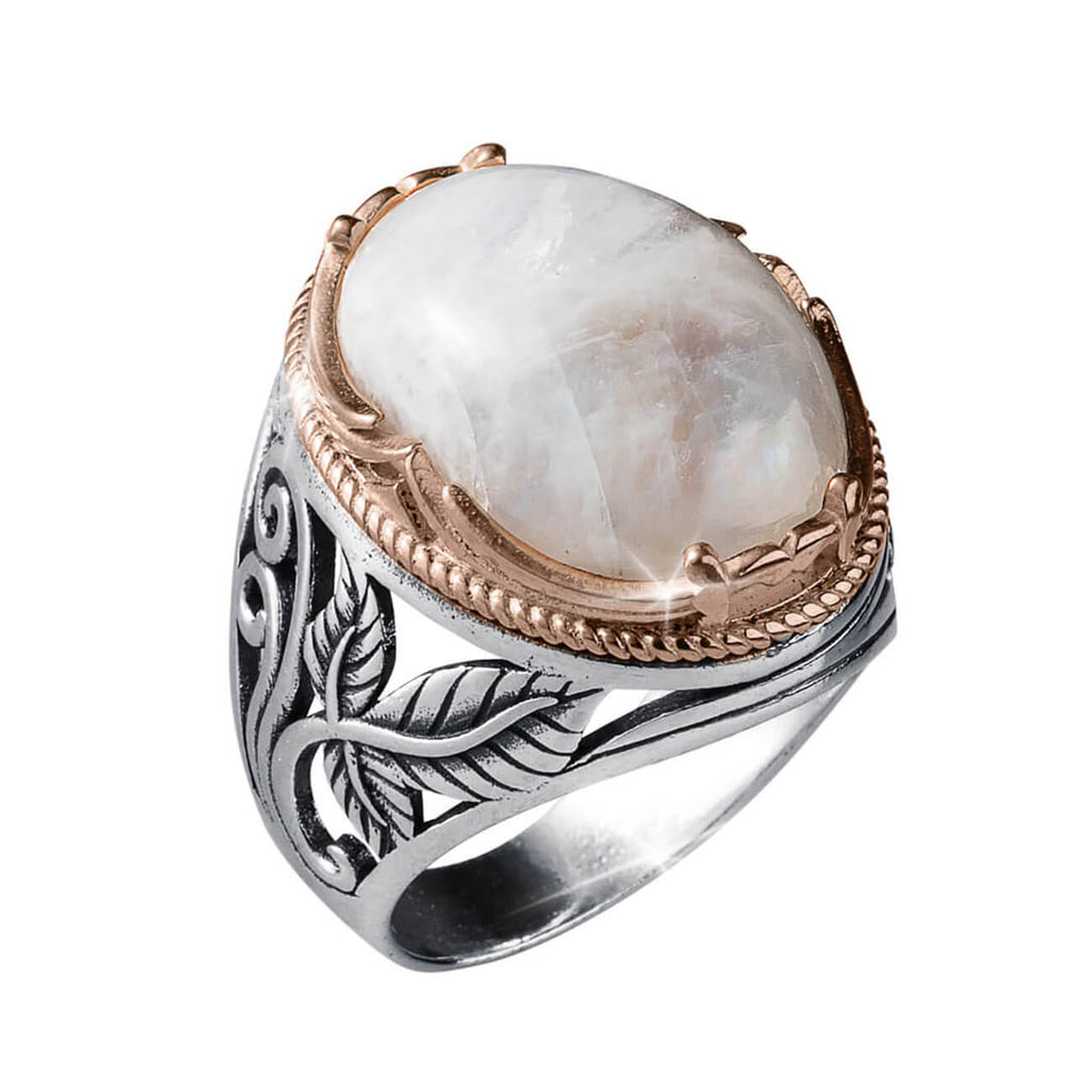 Moonstone Men's Ring