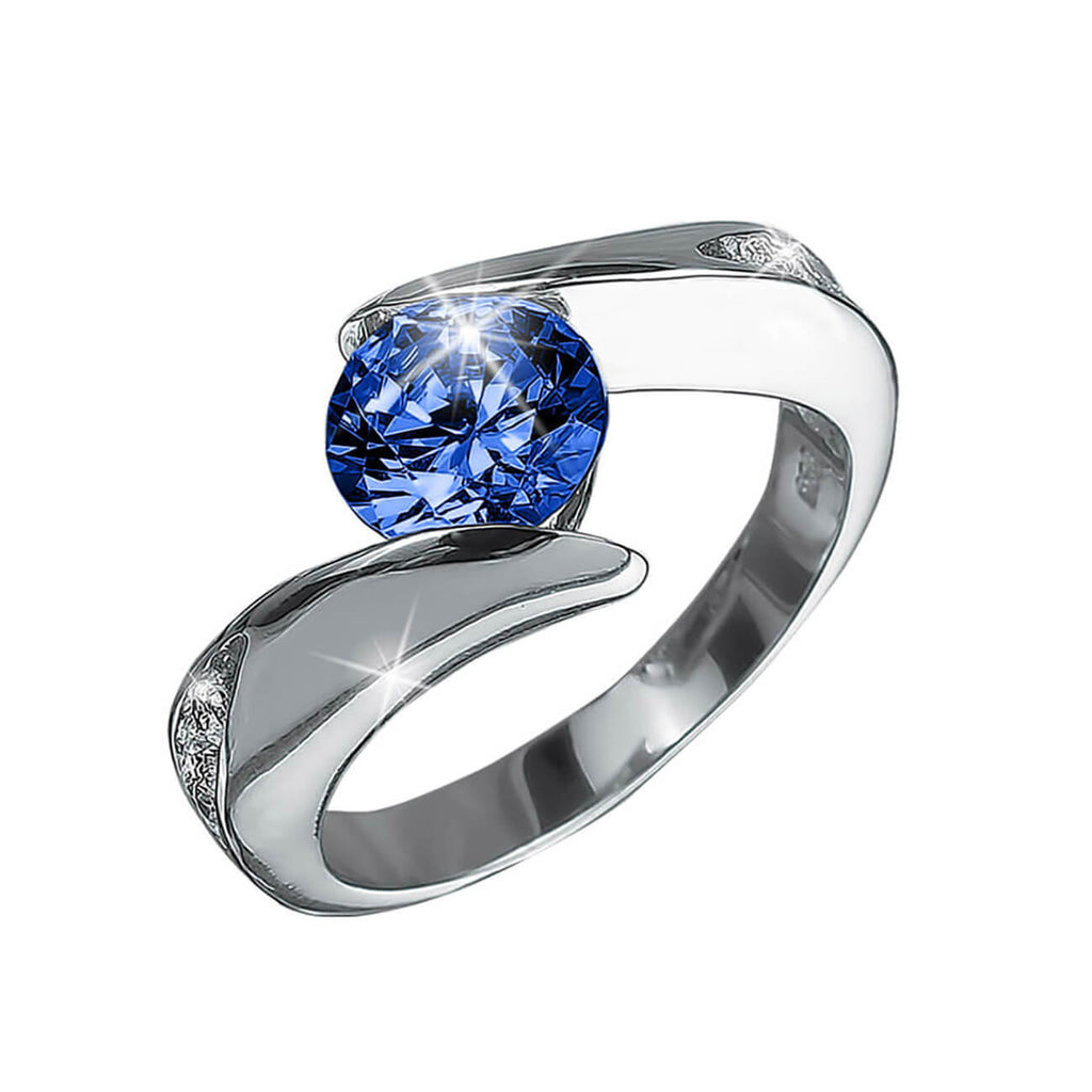 Viva Rainbow Azul Ladies Ring