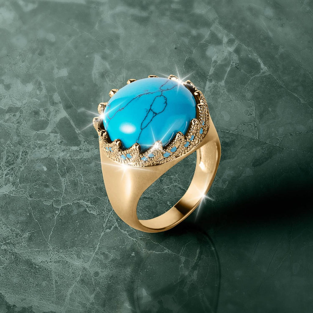 Ocean Turquoise Men's Ring