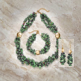 Vivacious Ruby - Zoisite Necklace