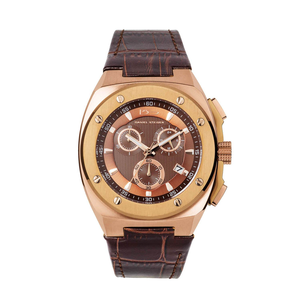 Grandeur Brown Men's Watch