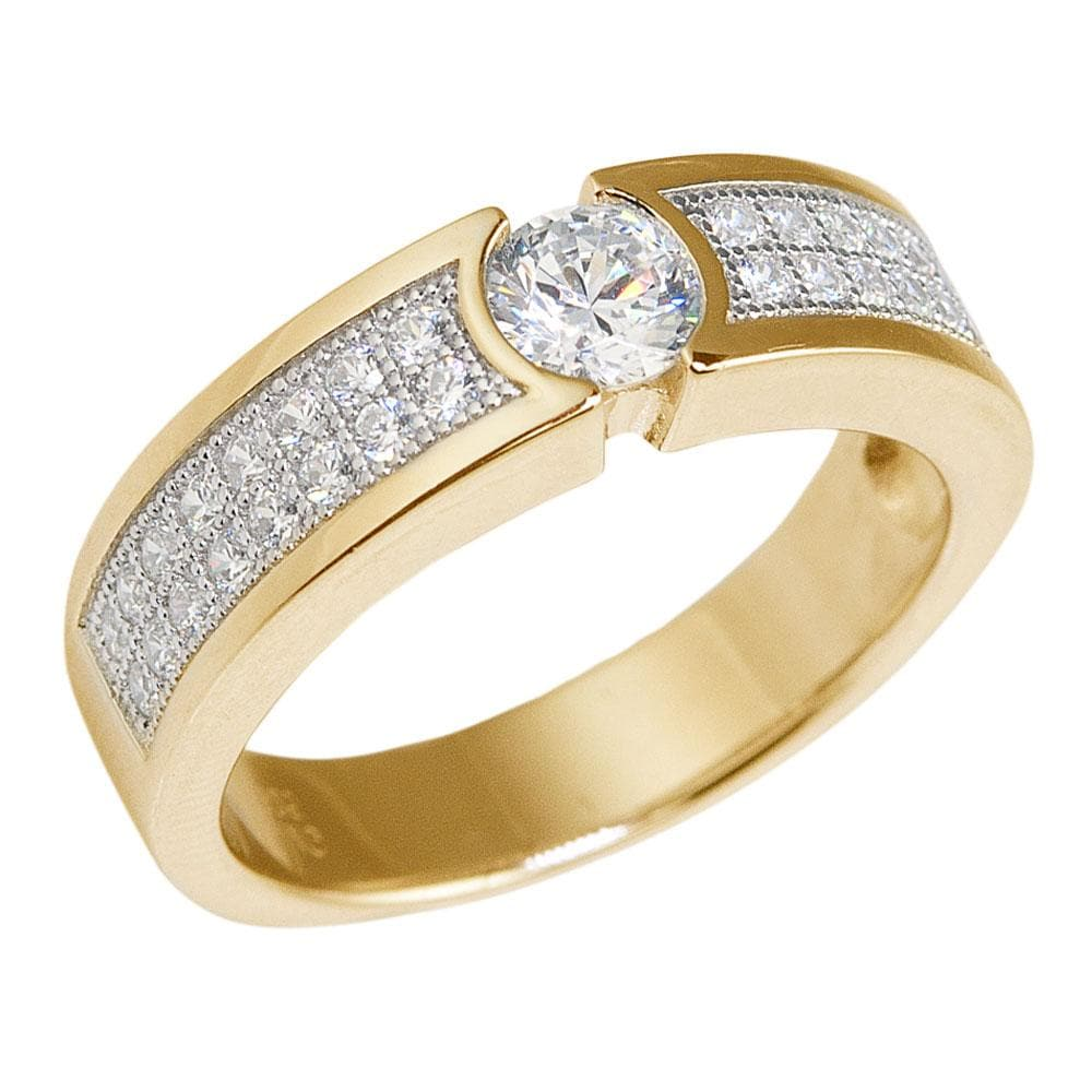 Avenue Gold Ring