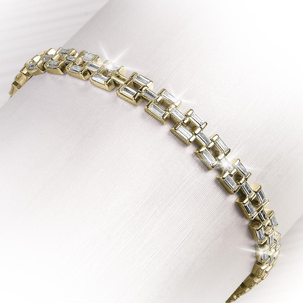 Ladies Astor Gold Bracelet