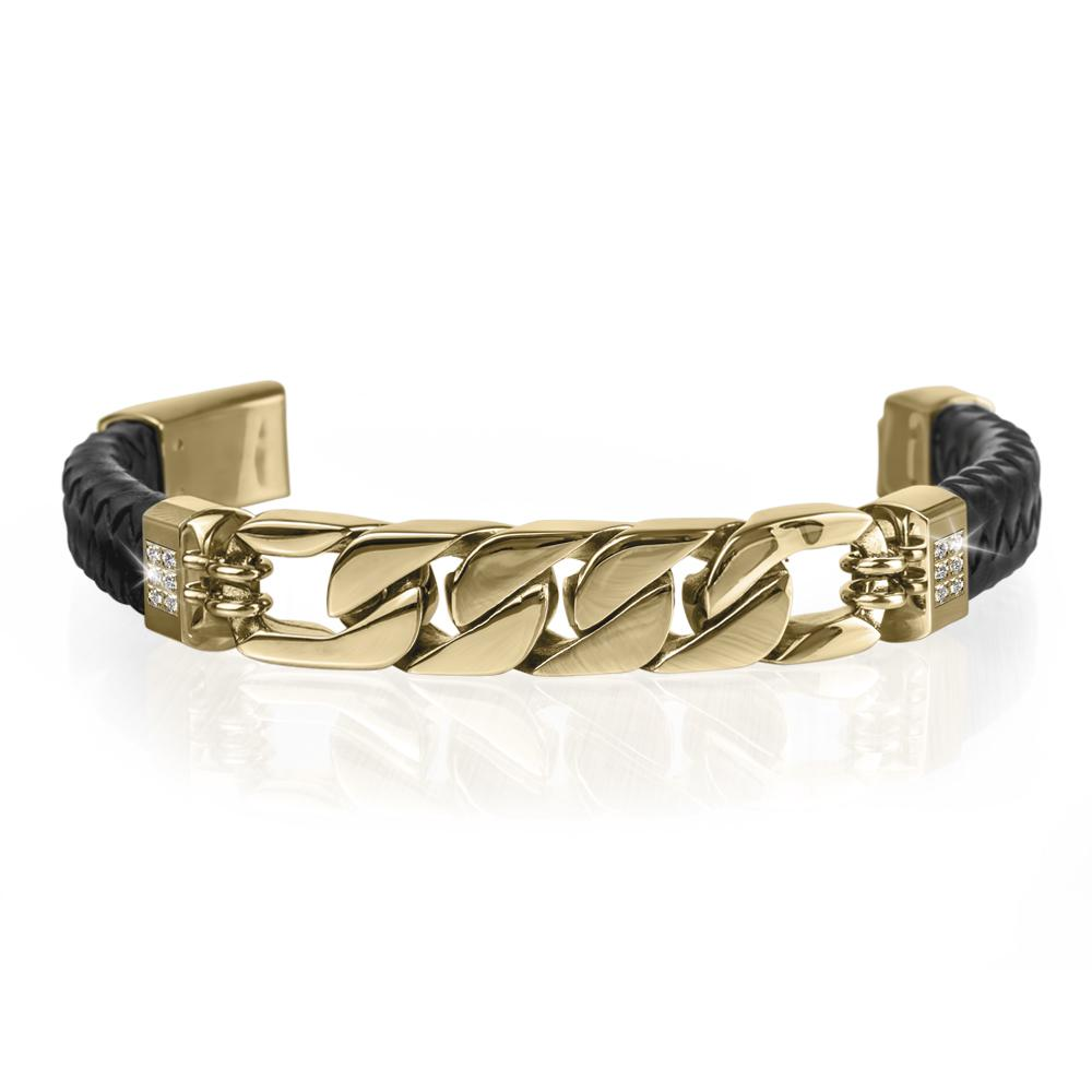Diamond Link Men's Bracelet
