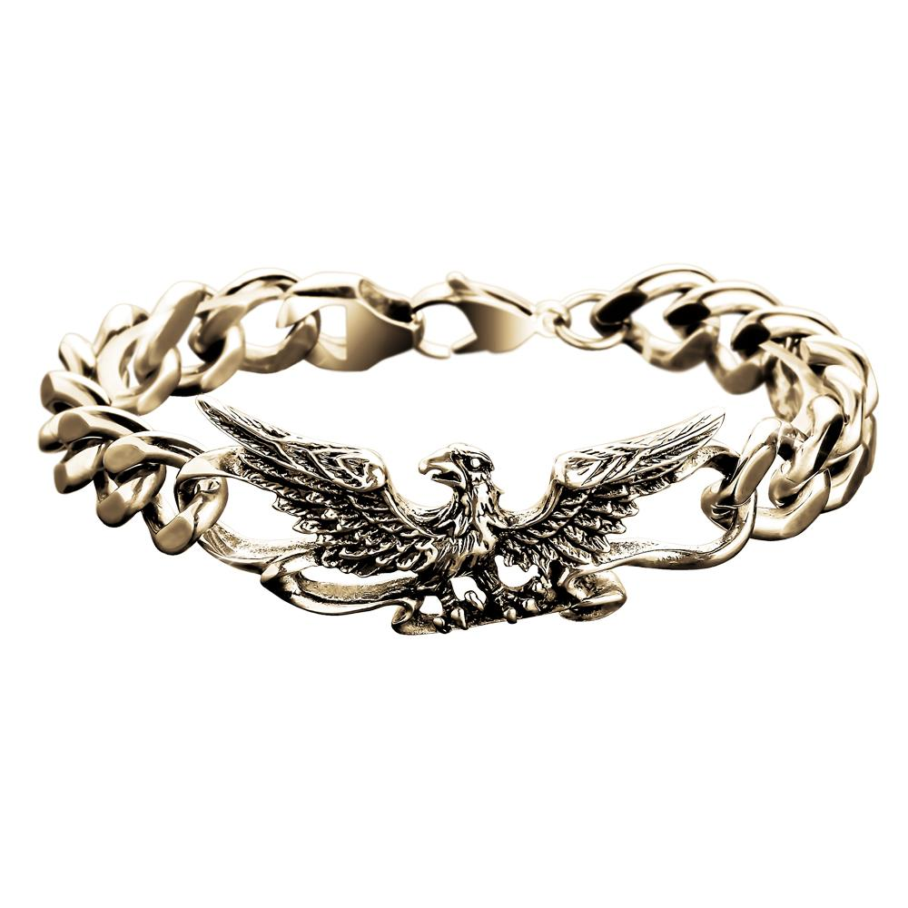 Patriot Eagle Gold Bracelet