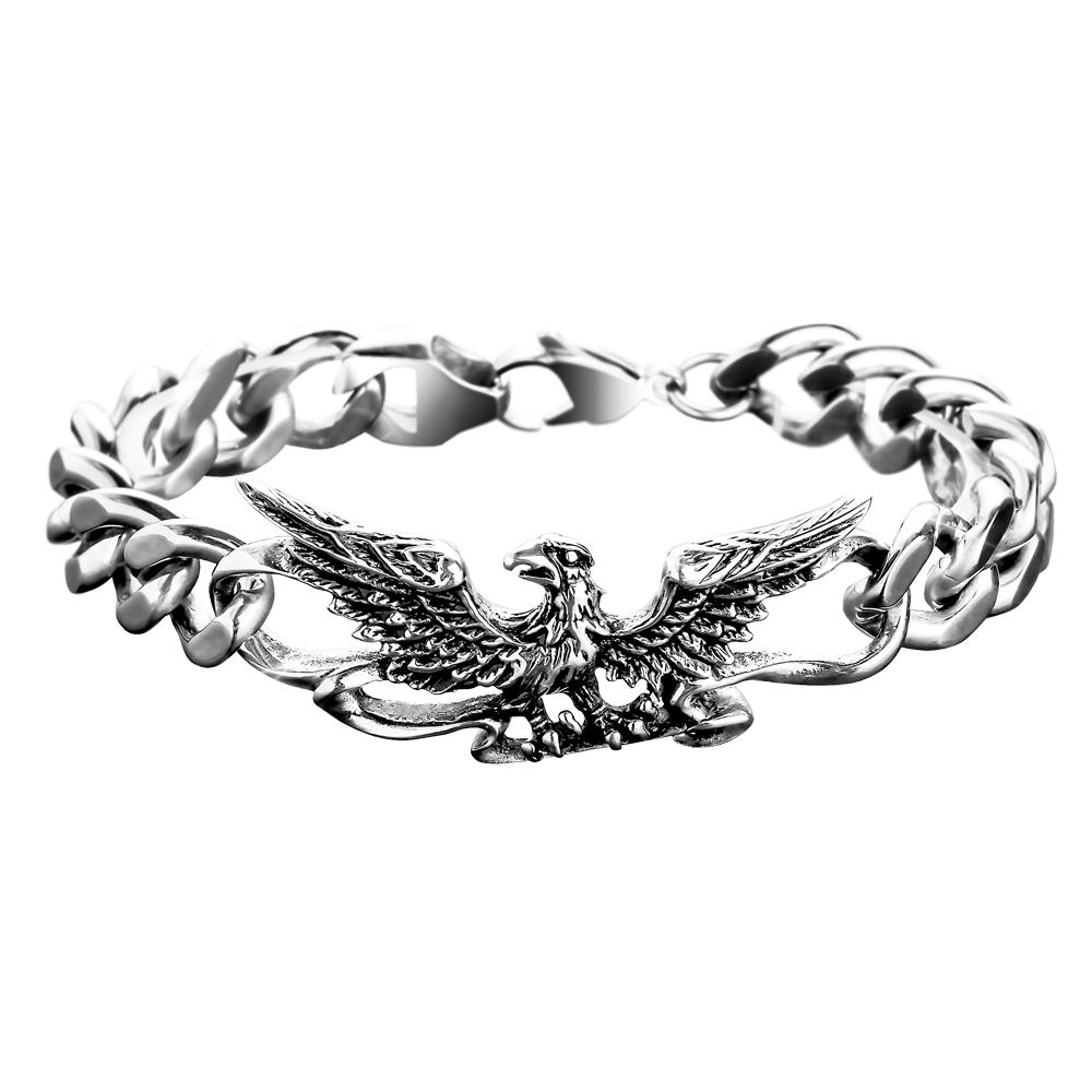 Patriot Eagle Steel Bracelet