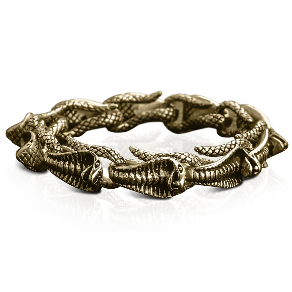 Venom Men's Gold Bracelet