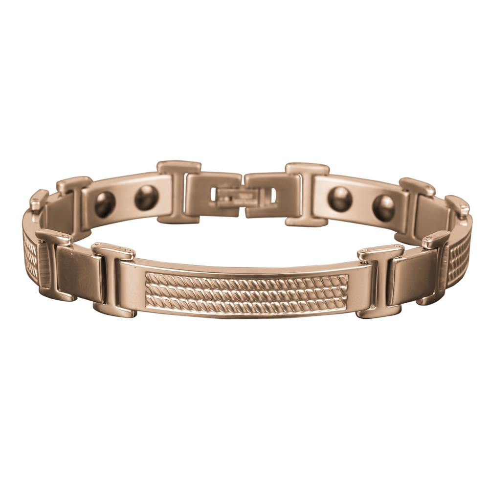 Columbus Magnetic Rose Gold Bracelet