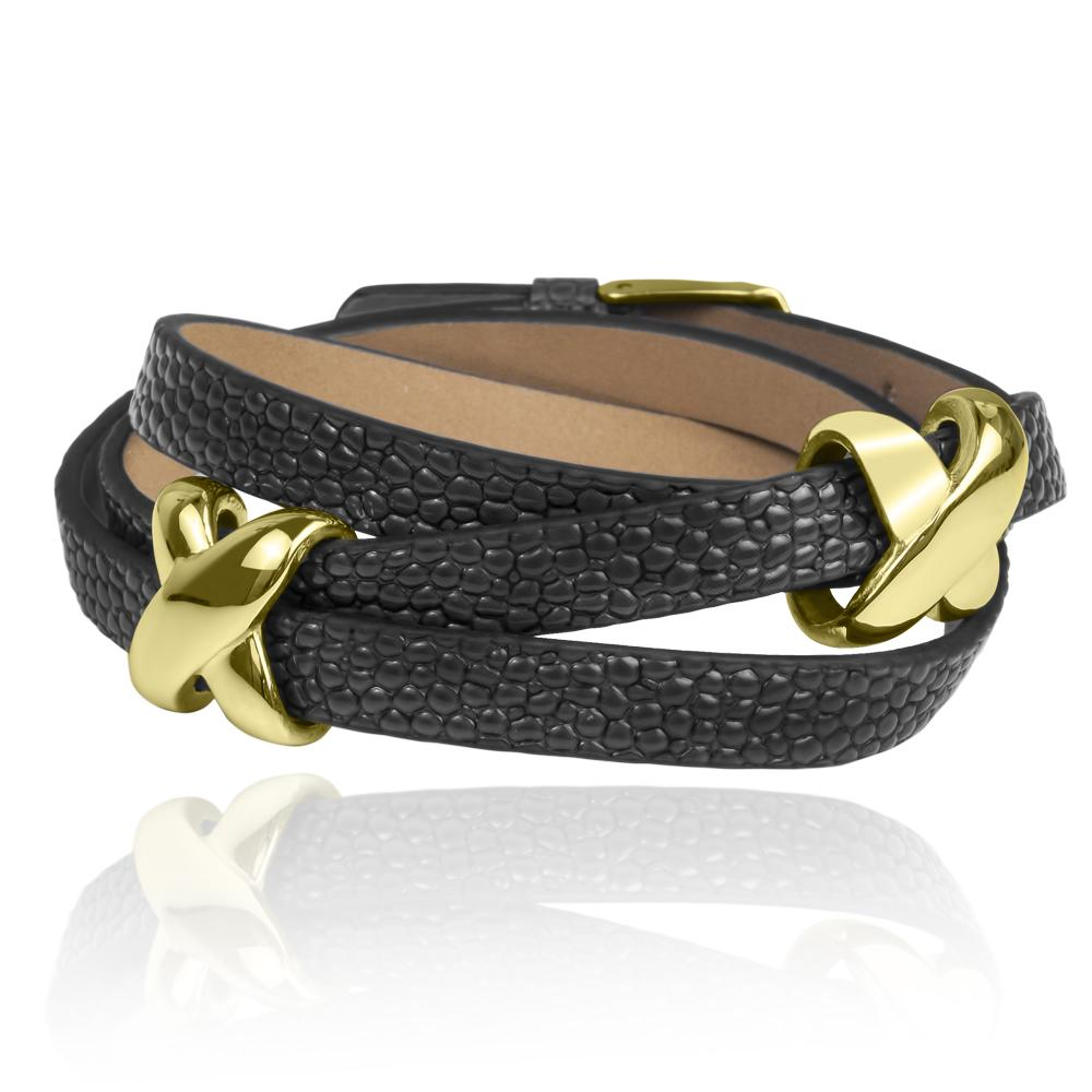 Allure Leather Bracelet