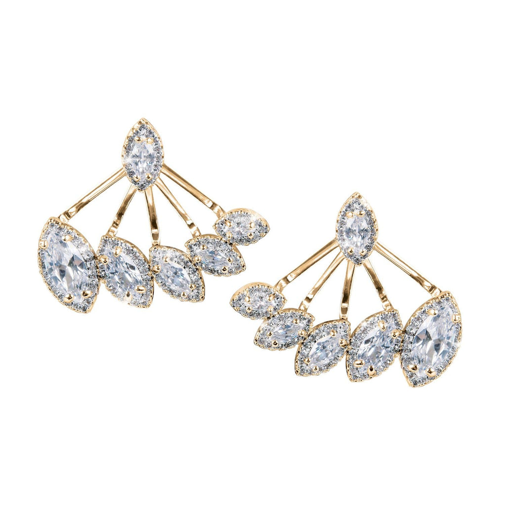 Marquise Earring Jackets