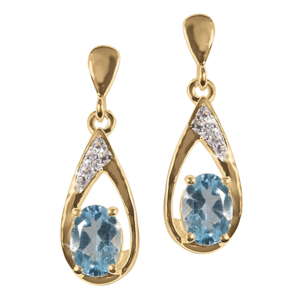 Blue Topaz Dreams Earrings