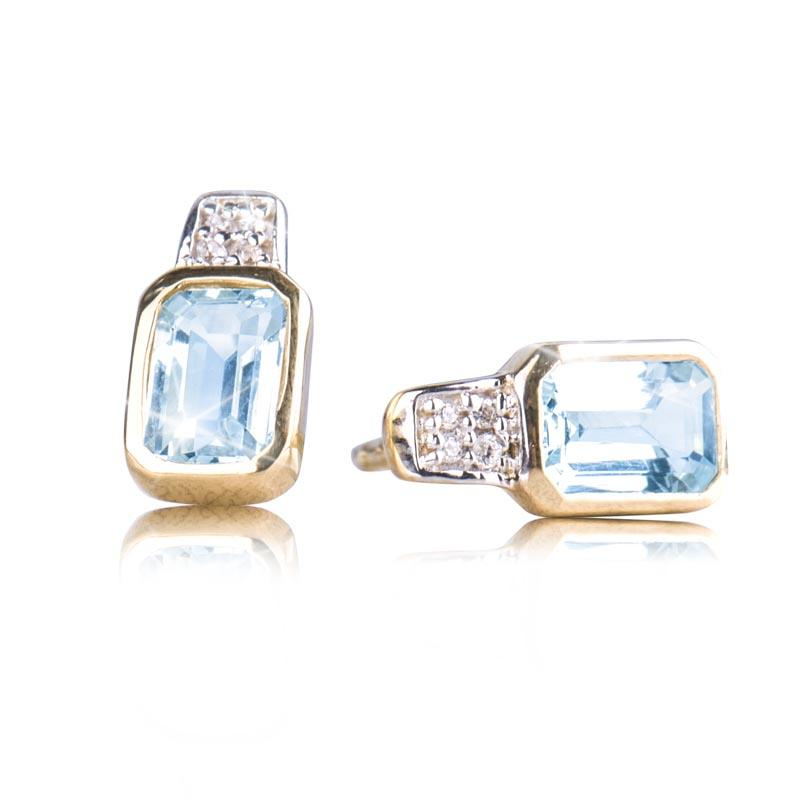 Oseaan Aquamarine Earrings