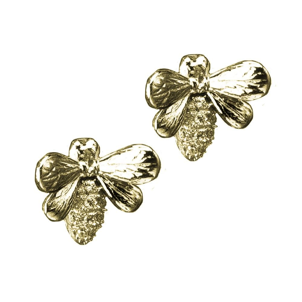 Bee Honeycomb Earrings