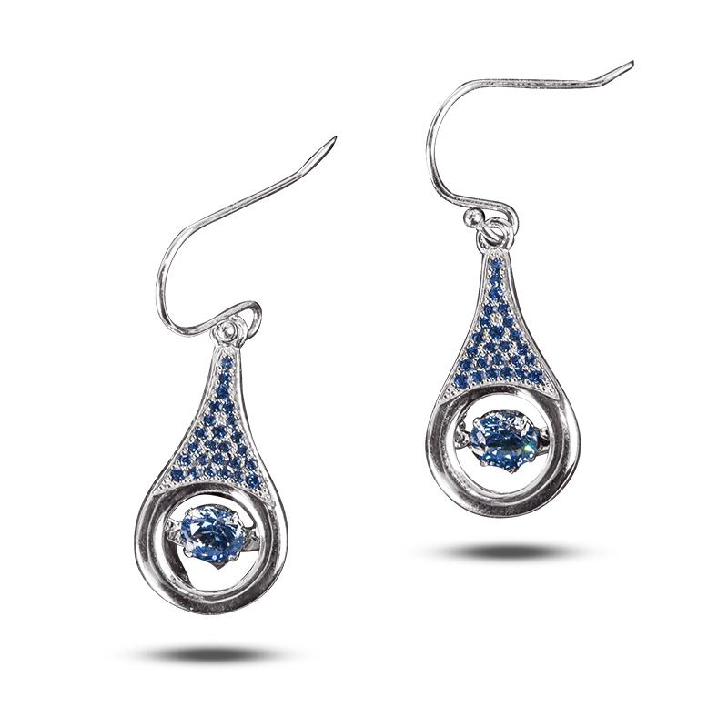 Indigo Dancing Earrings