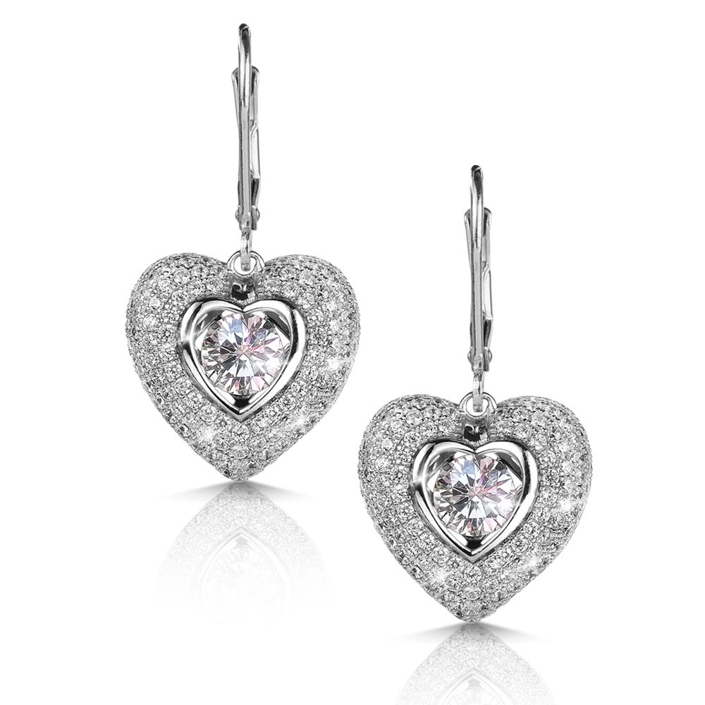 Dancing Heart Earrings