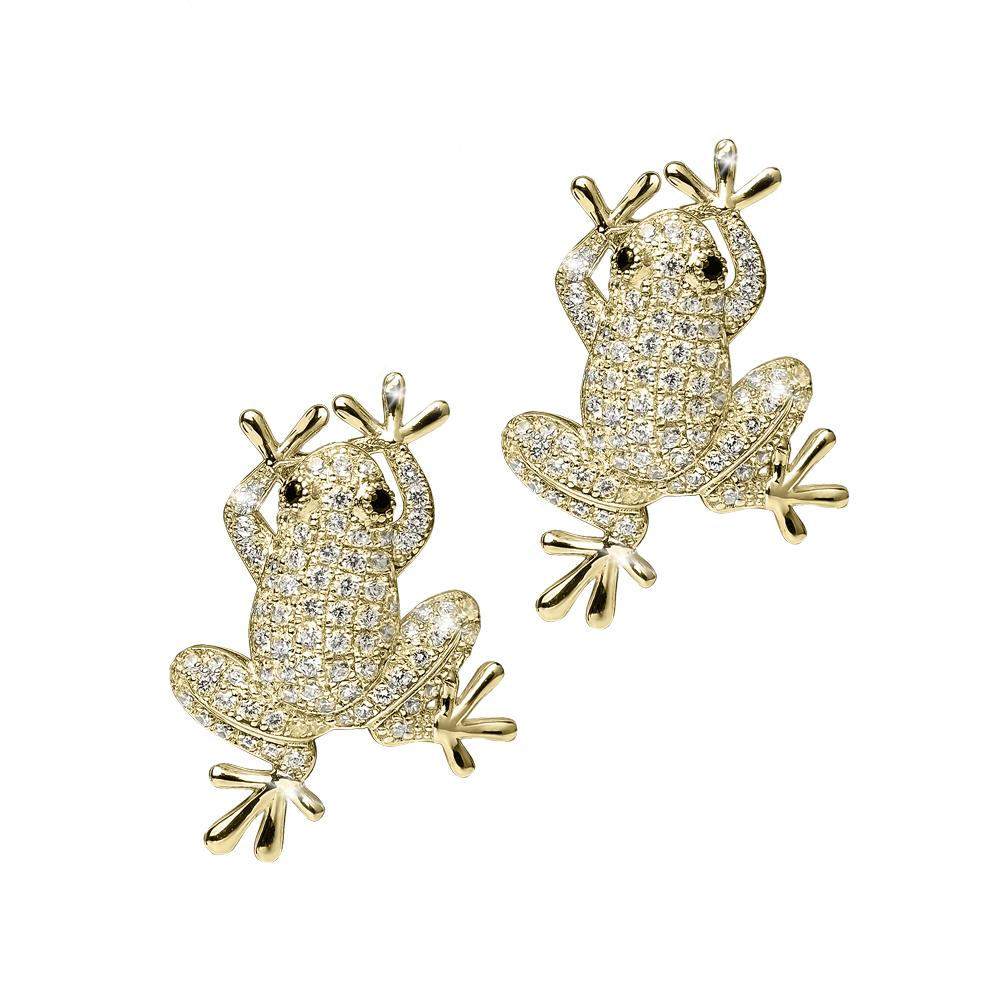 Frog Prince Earrings