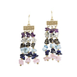 Gemstone Serenade Earrings