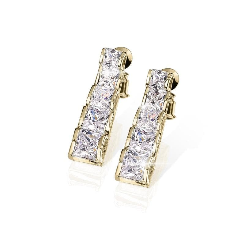 Starlet Gold Earrings