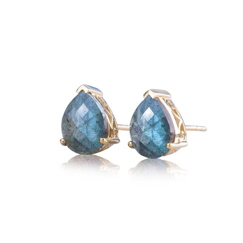 Bella Labradorite Earrings
